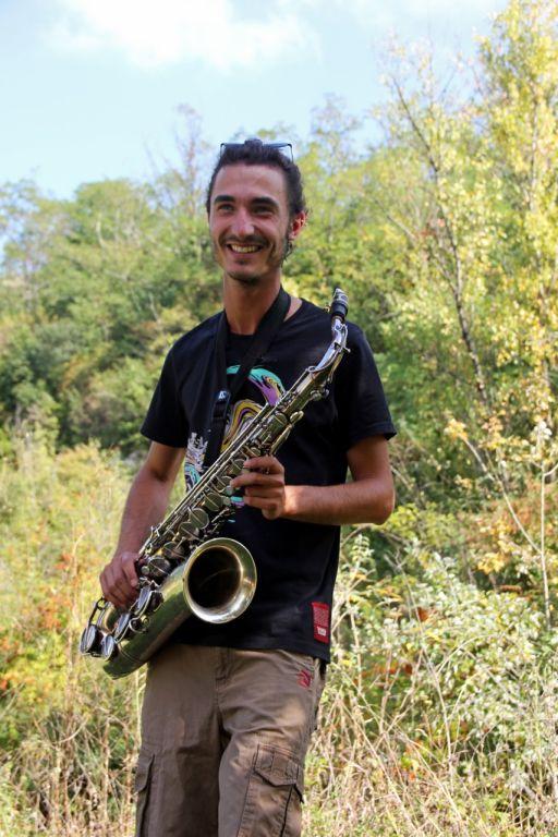 leo saxophoniste dear poppa mandela