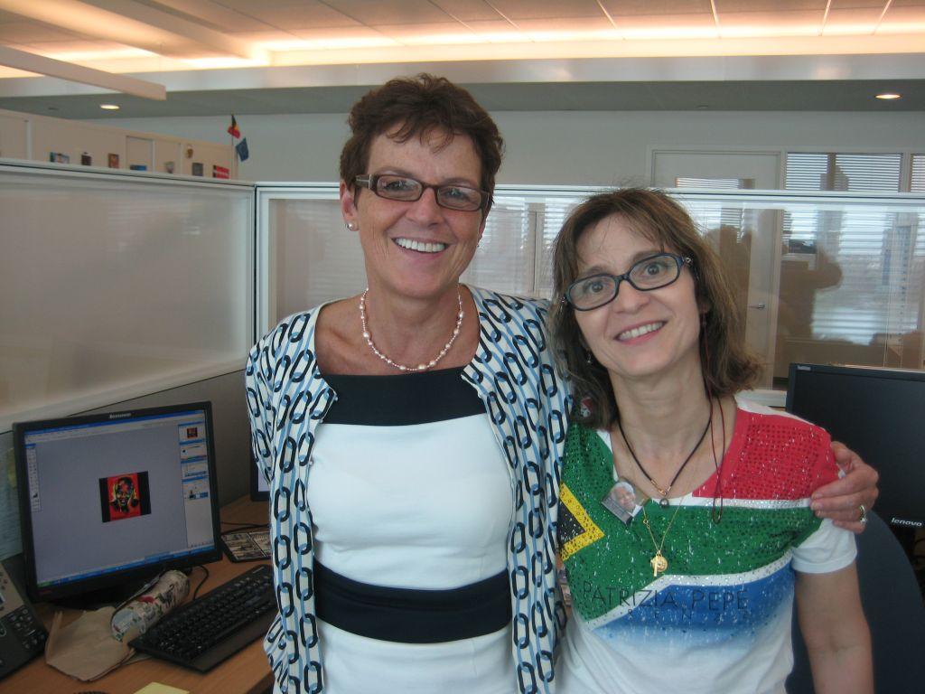 Un lien fort s'est crée avec Florence journaliste française aux Nations Unies, qui a réalisée une superbe vidéo réunissant Madiba et Moonspice