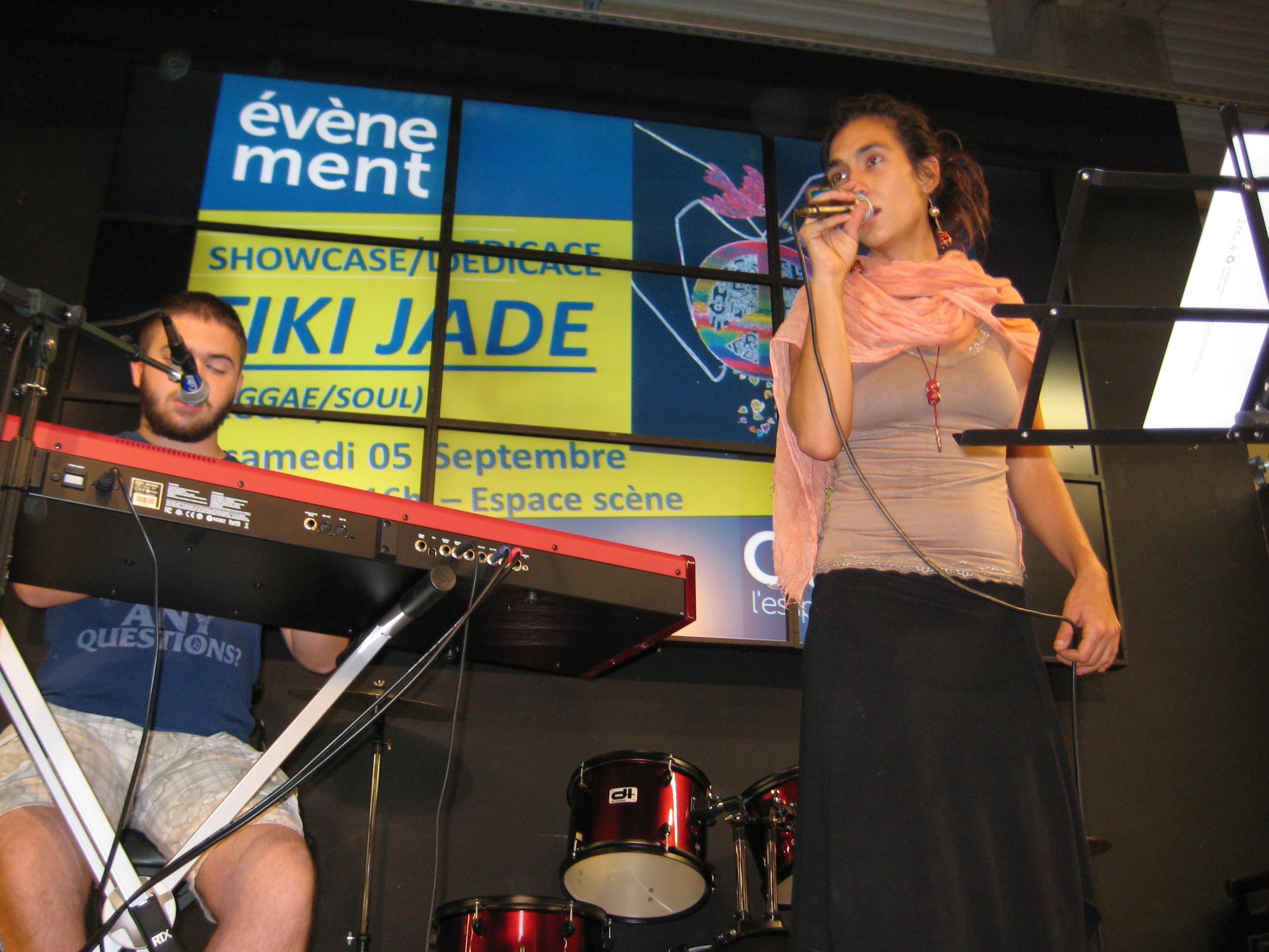 TIKI JADE concert