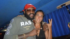 The great Tarrus Riley with Tiki Jade !