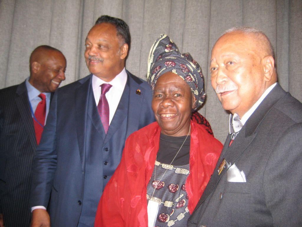 Trois amis de Madiba